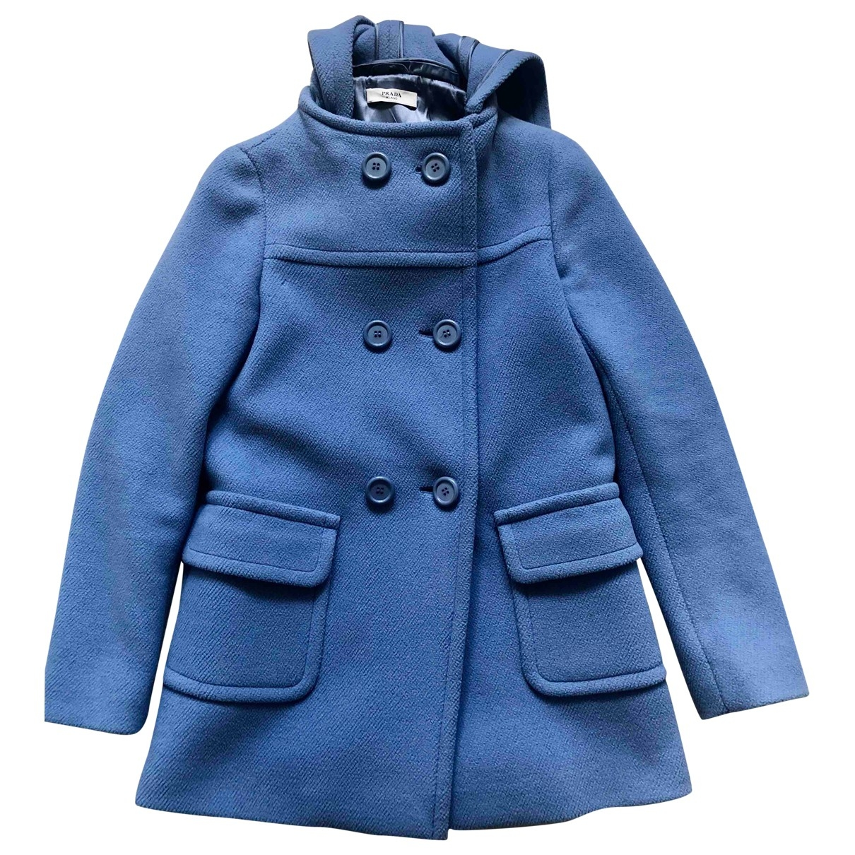 Prada \N Turquoise Wool coat for Women 38 IT