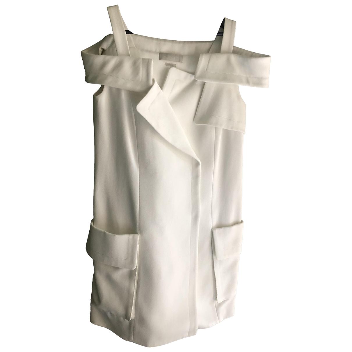 Monse - Robe   pour femme en coton - blanc