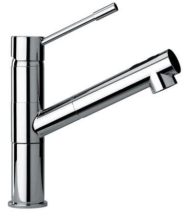 25568-69 Modern Single Lever Handle One Hole Kitchen Faucet  Designer Antique Brass