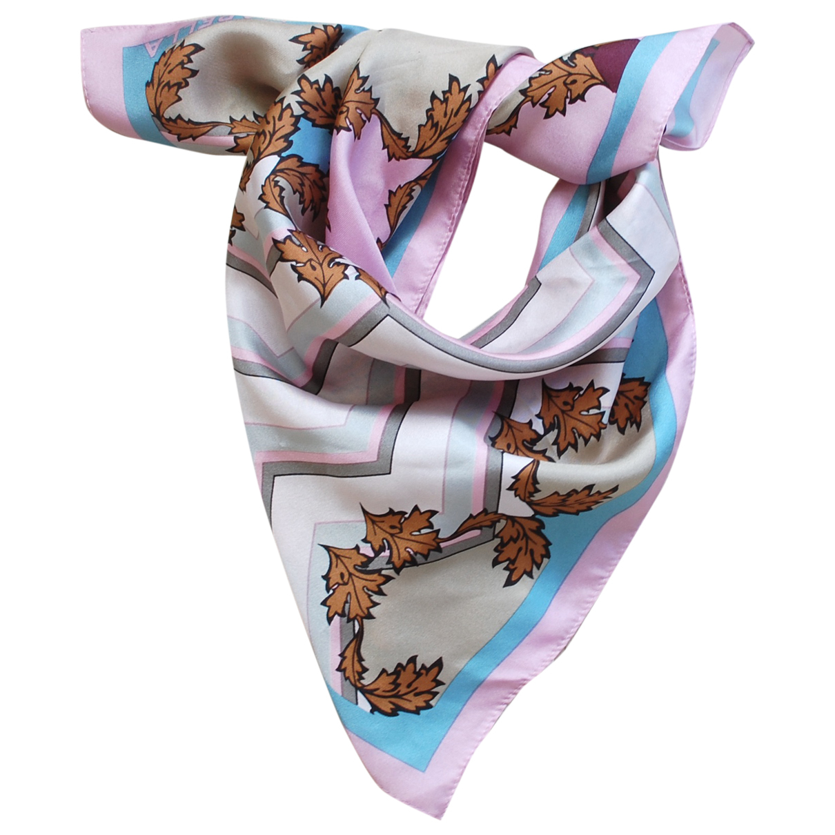 Marella N Multicolour Silk scarf for Women N