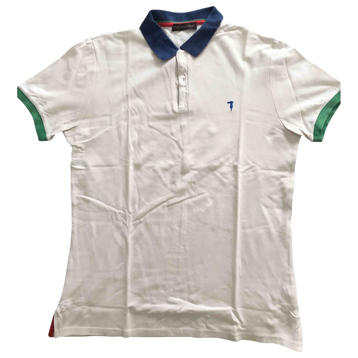 Trussardi \N White Cotton Polo shirts for Men M International
