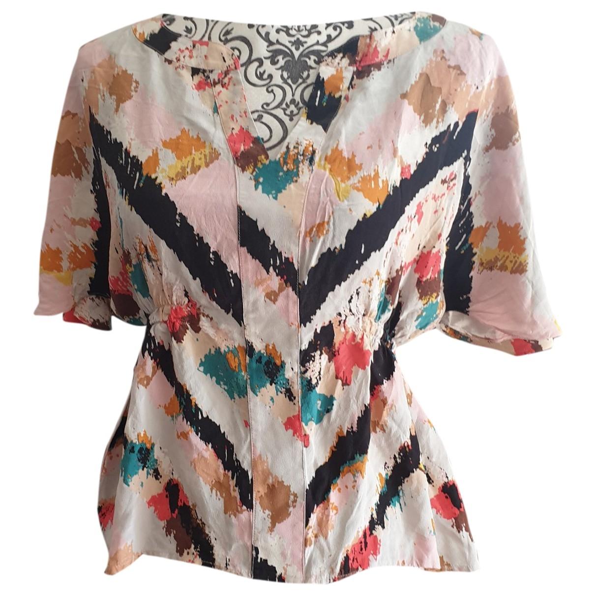 Bcbg Max Azria \N Multicolour Silk  top for Women 38 FR