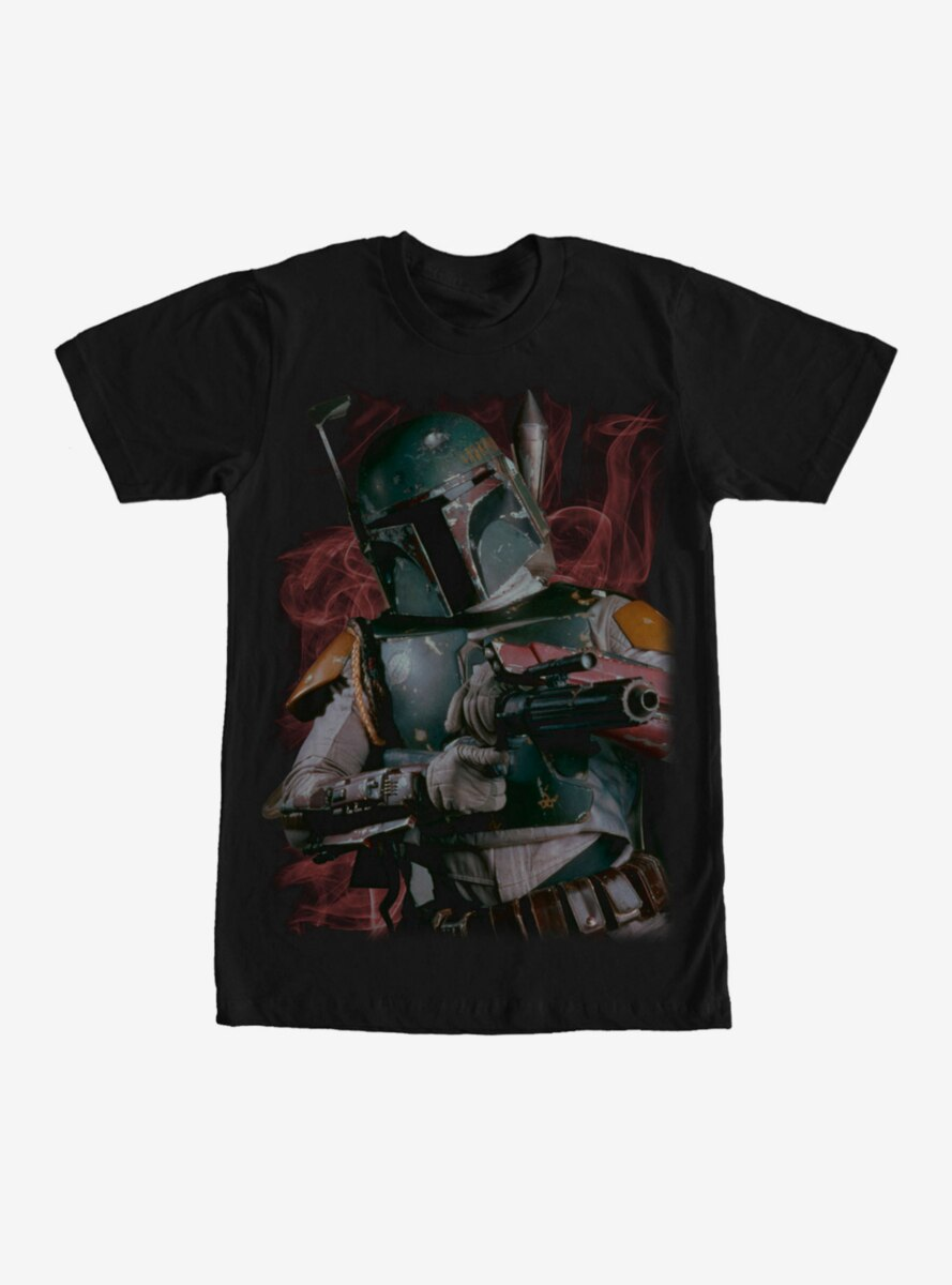 Star Wars Boba Fett Bounty Hunter Smoke T-Shirt