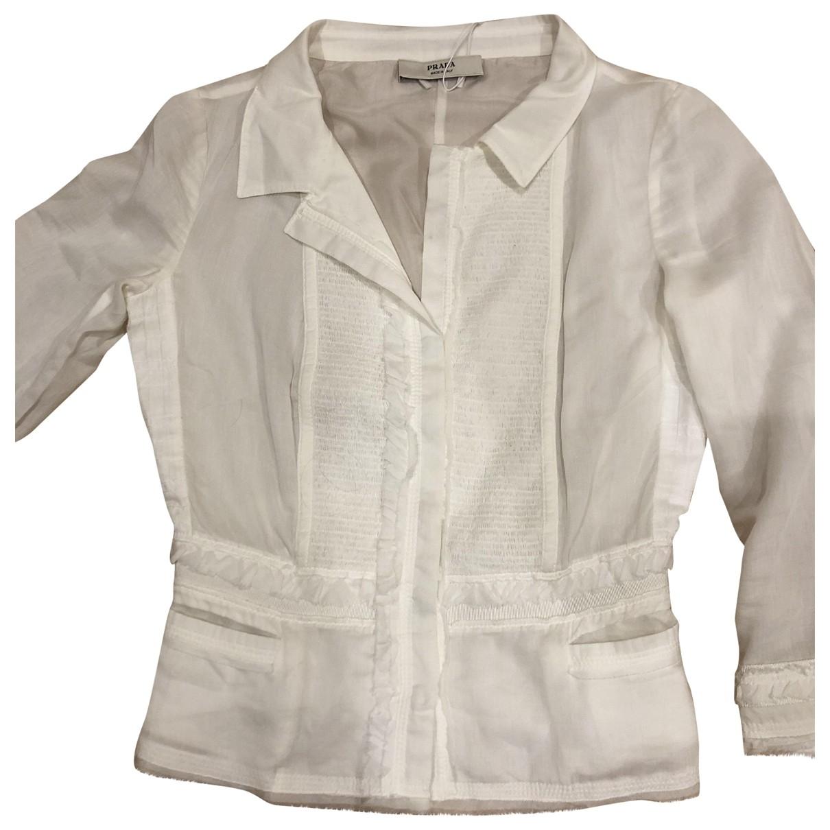 Prada \N White  top for Women 34 FR