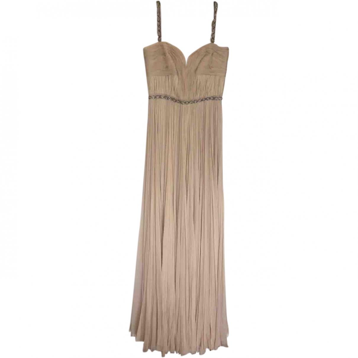 J.mendel \N Ecru Silk dress for Women 6 US