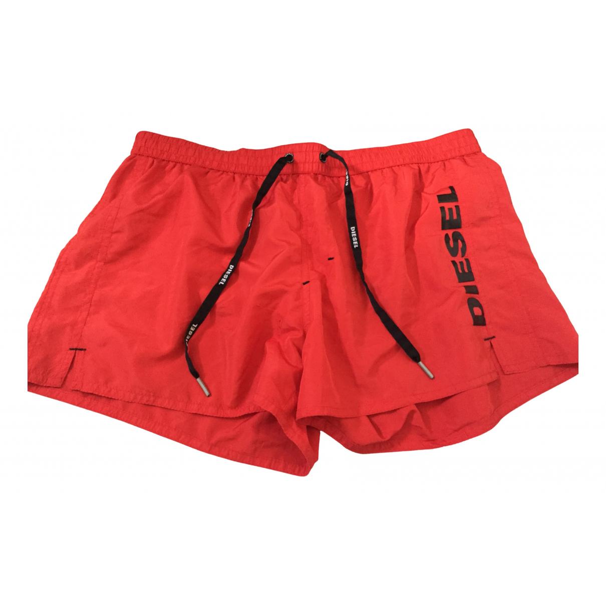 Diesel \N Badeanzug in  Rot Polyester
