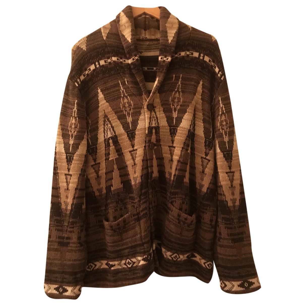 Lauren Ralph Lauren \N Brown Cotton Knitwear & Sweatshirts for Men L International