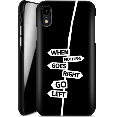 Apple iPhone XR Smartphone Huelle - When Nothing Goes Right von We Make The Cake
