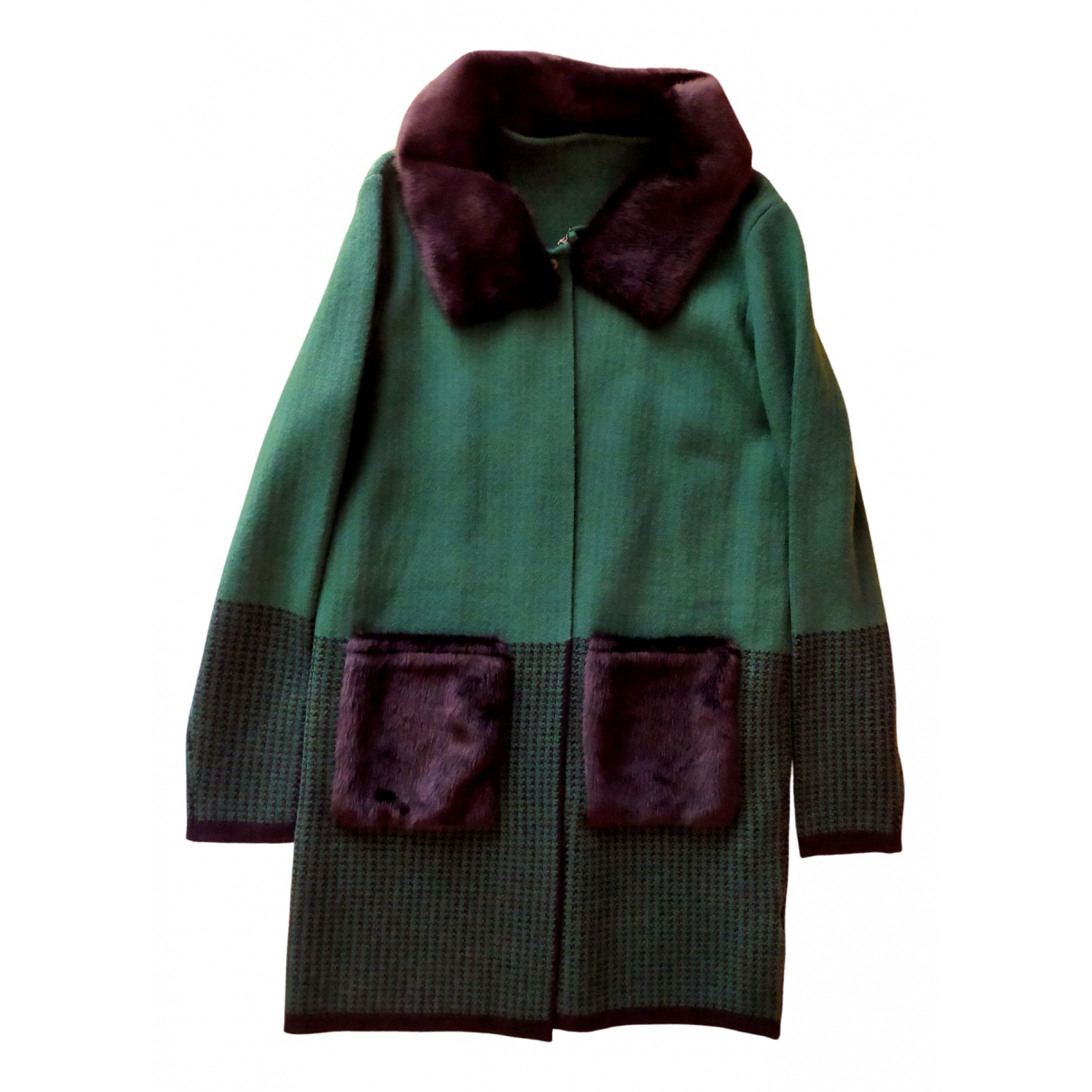 Hedoné N Green coat for Women M International