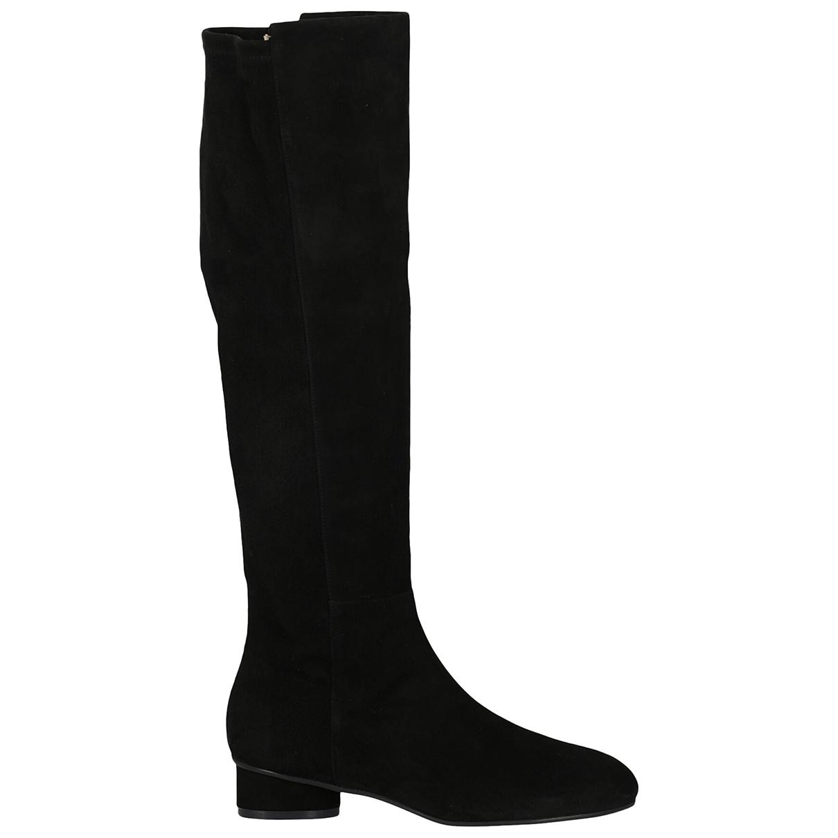Stuart Weitzman \N Black Suede Boots for Women 38 IT