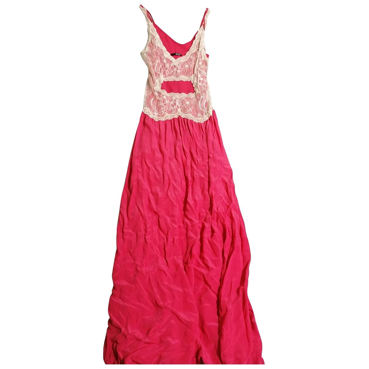 Liu.jo \N Kleid in  Rosa Seide