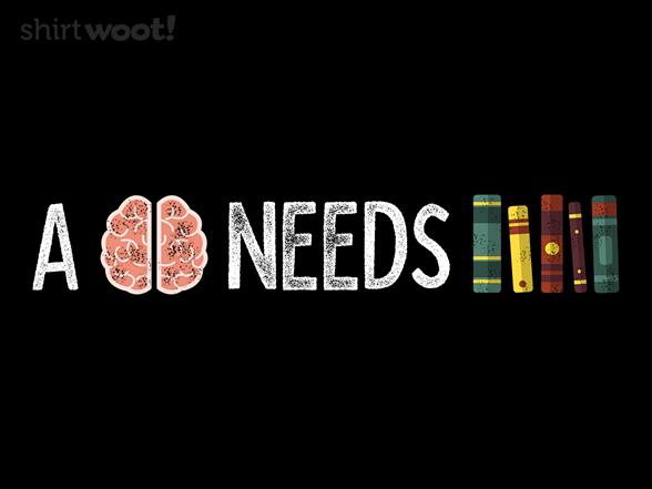 A Mind Needs Books T Shirt
