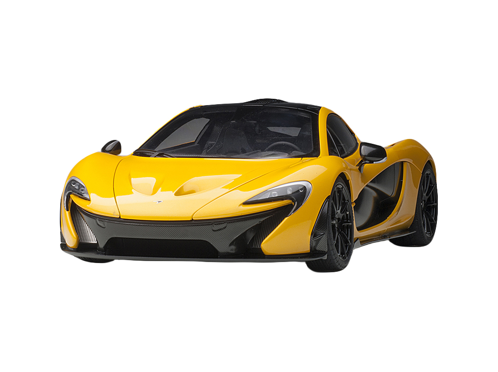McLaren P1 Volcano Yellow 1/12 Model Car by Autoart