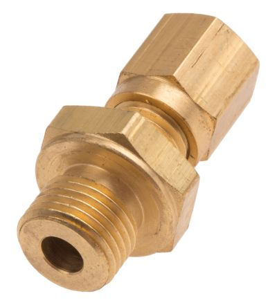RS PRO Thermocouple Compression Fitting for use with Thermocouple With 4mm Probe Diameter, 1/8 BSP