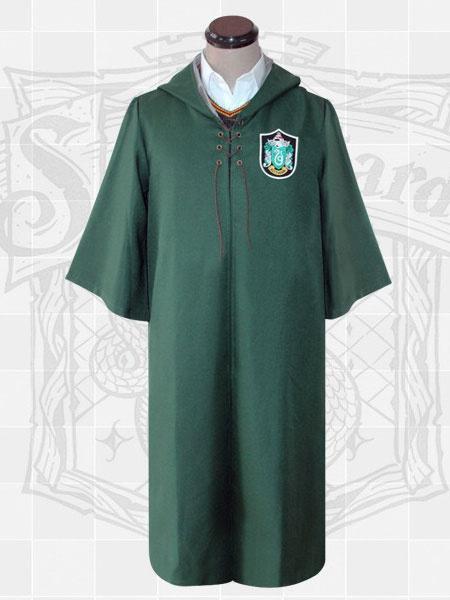 Milanoo Harry Potter Cosplay Costume Robe Cloak Hooded Uniform Halloween