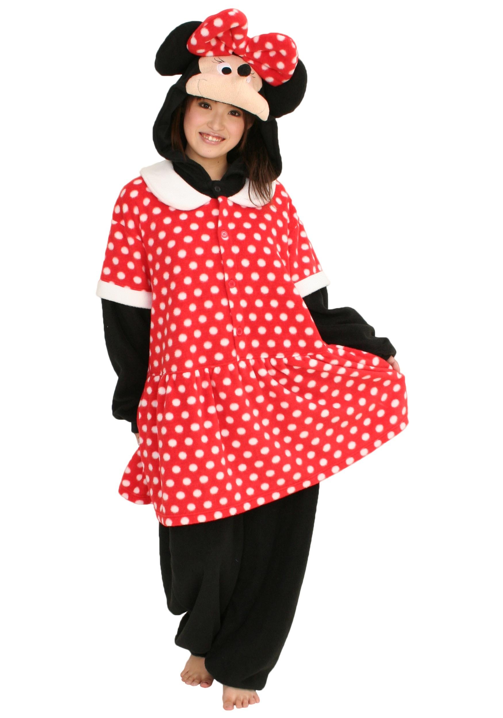 Minnie Mouse Kigurumi Pajamas for Adults