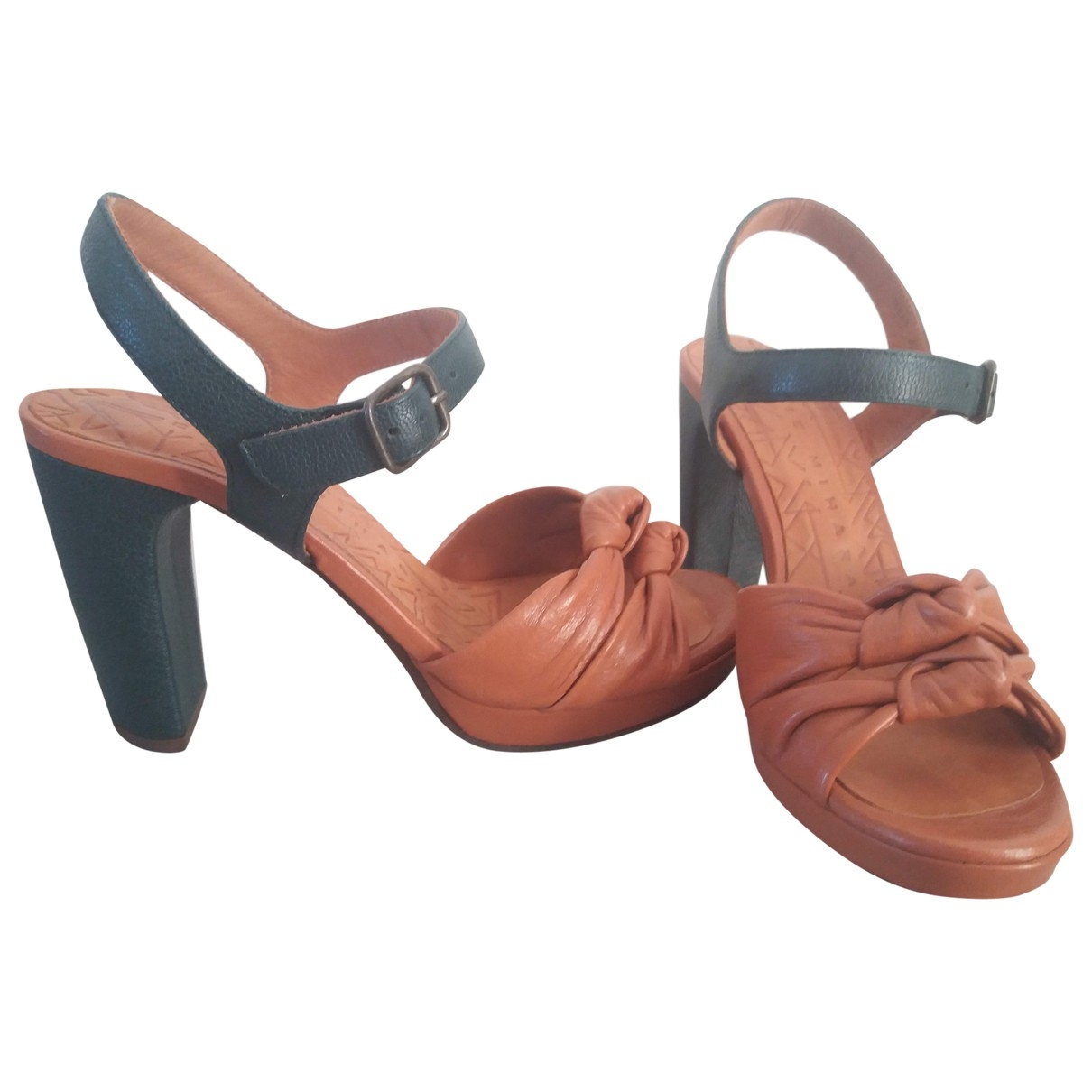 Chie Mihara \N Brown Leather Sandals for Women 37 EU