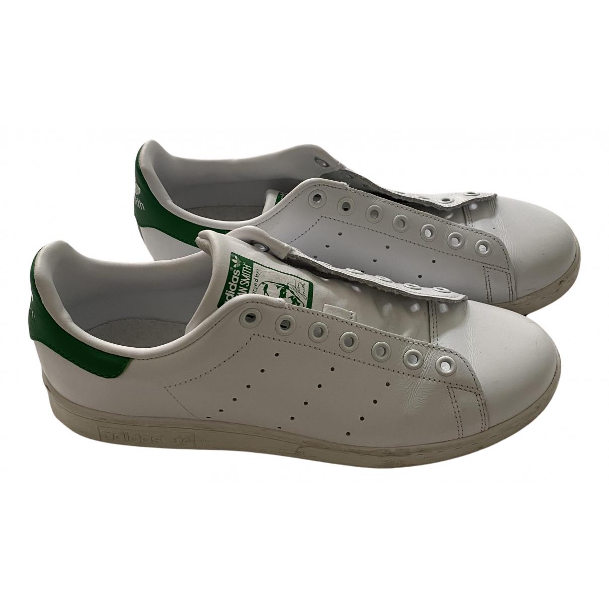 Adidas - Baskets Stan Smith pour homme en caoutchouc - blanc
