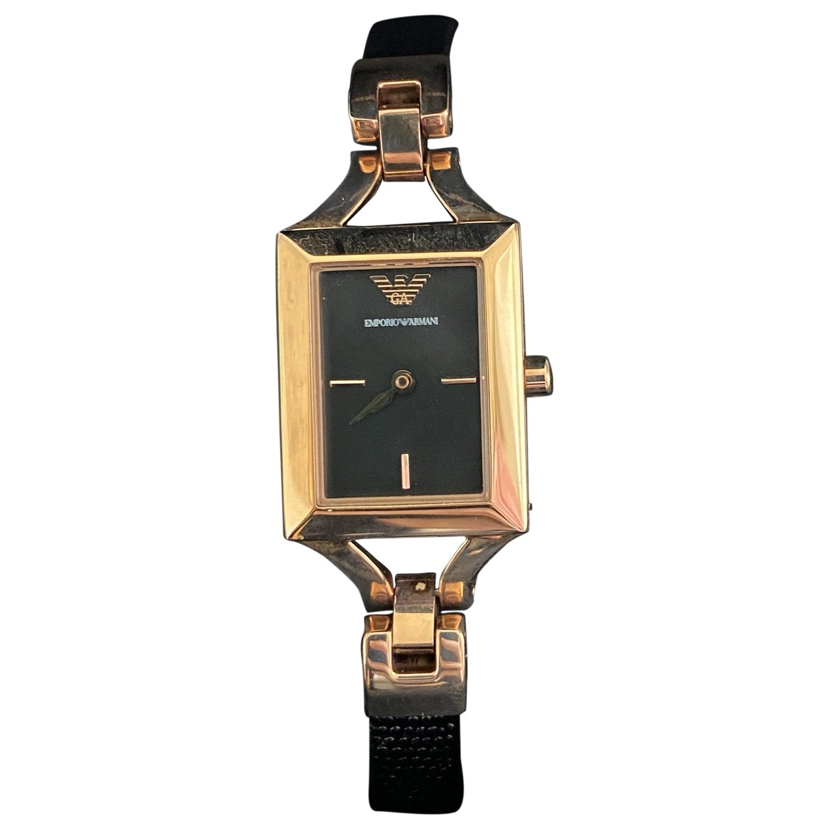 Emporio Armani \N Gold Steel watch for Women \N