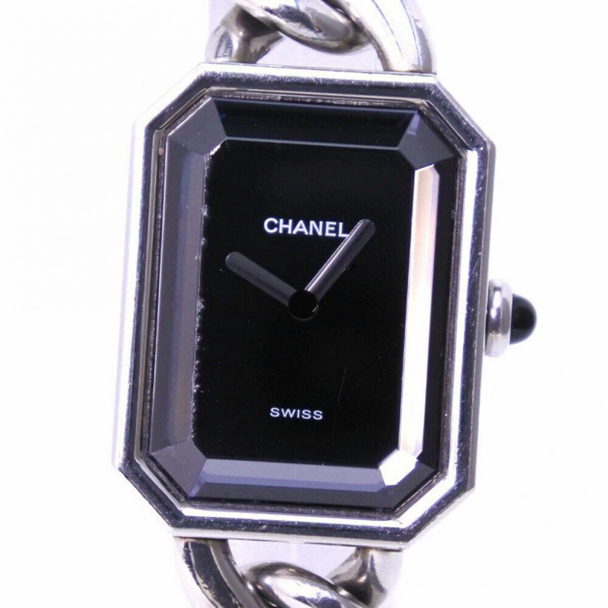 Chanel Premiere Uhr in  Silber Stahl