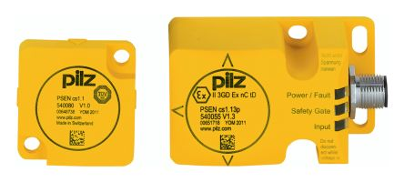 Pilz PSENcode ATEX Magnetic Safety Non-Contact Switch, Plastic, 24 V dc