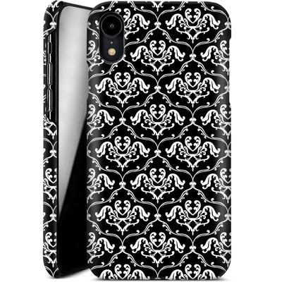 Apple iPhone XR Smartphone Huelle - Black French Lillies von caseable Designs
