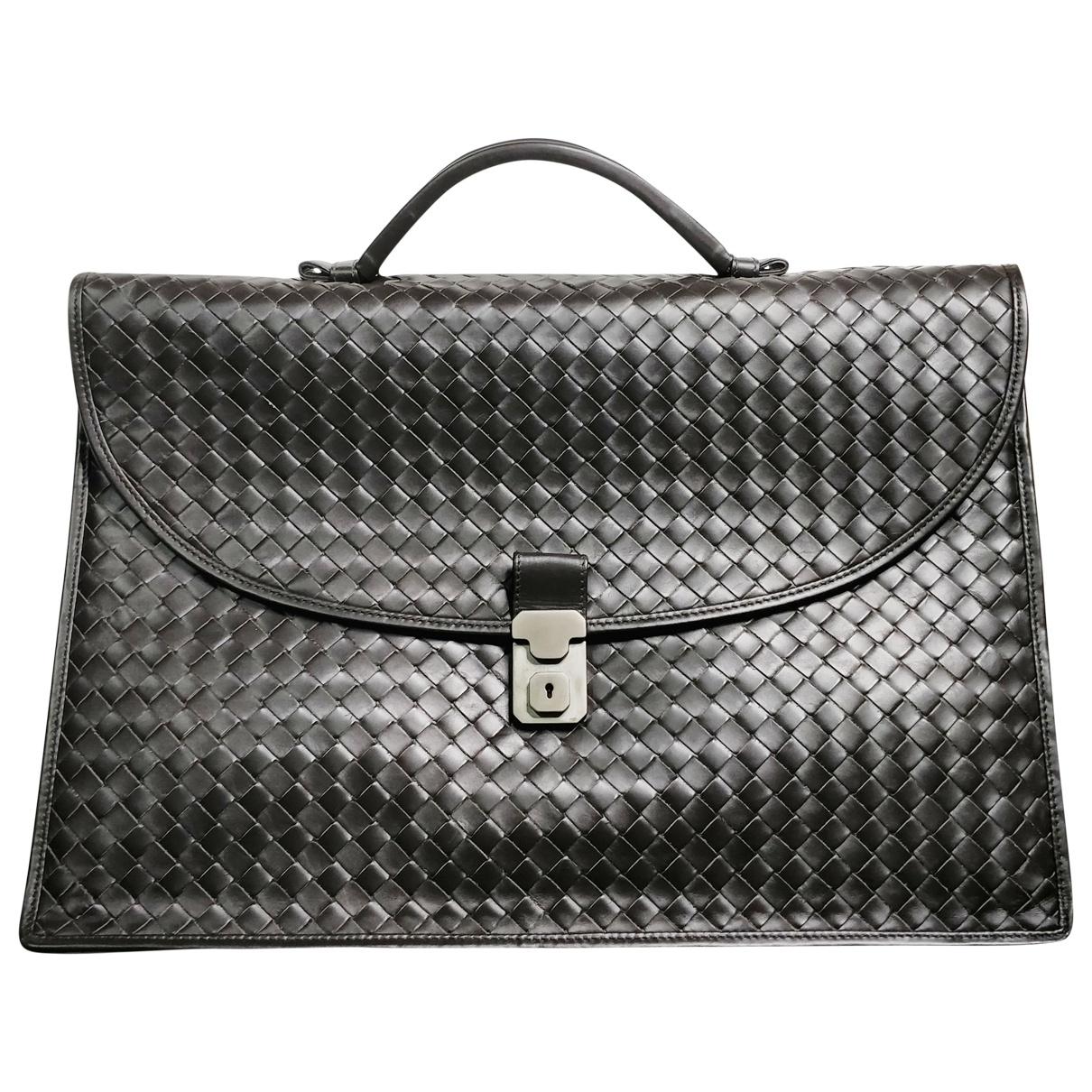 Bottega Veneta \N Brown Leather bag for Men \N