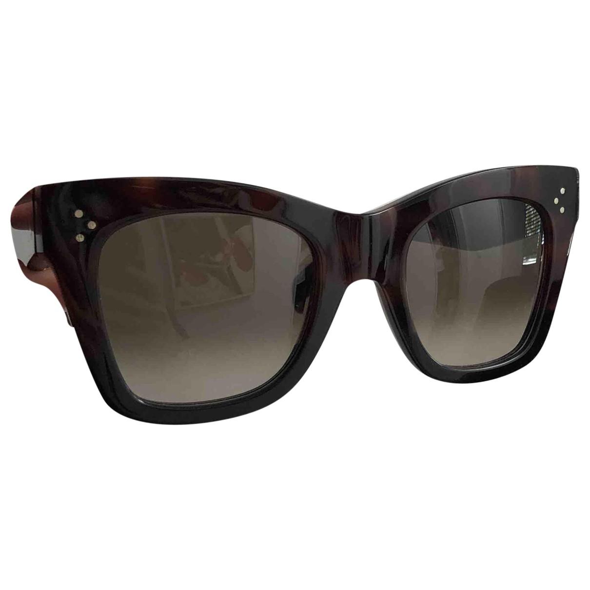 Celine Tilda Brown Sunglasses for Women \N