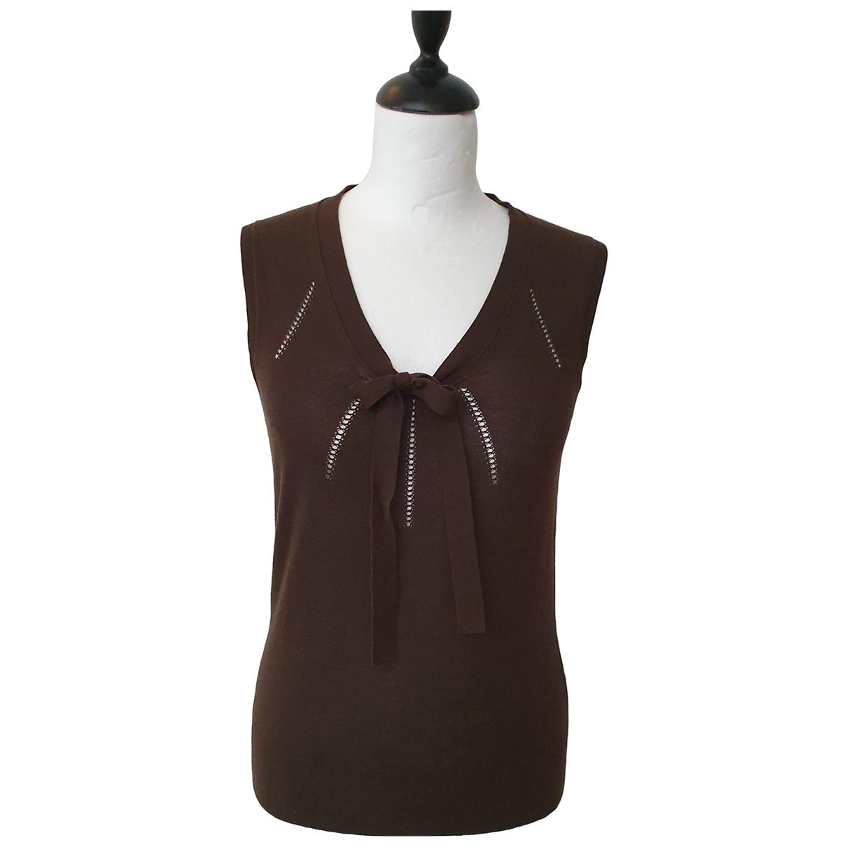 Celine \N Brown Cotton  top for Women S International