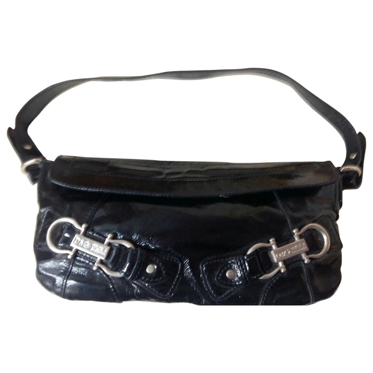 D&g \N Black Patent leather handbag for Women \N