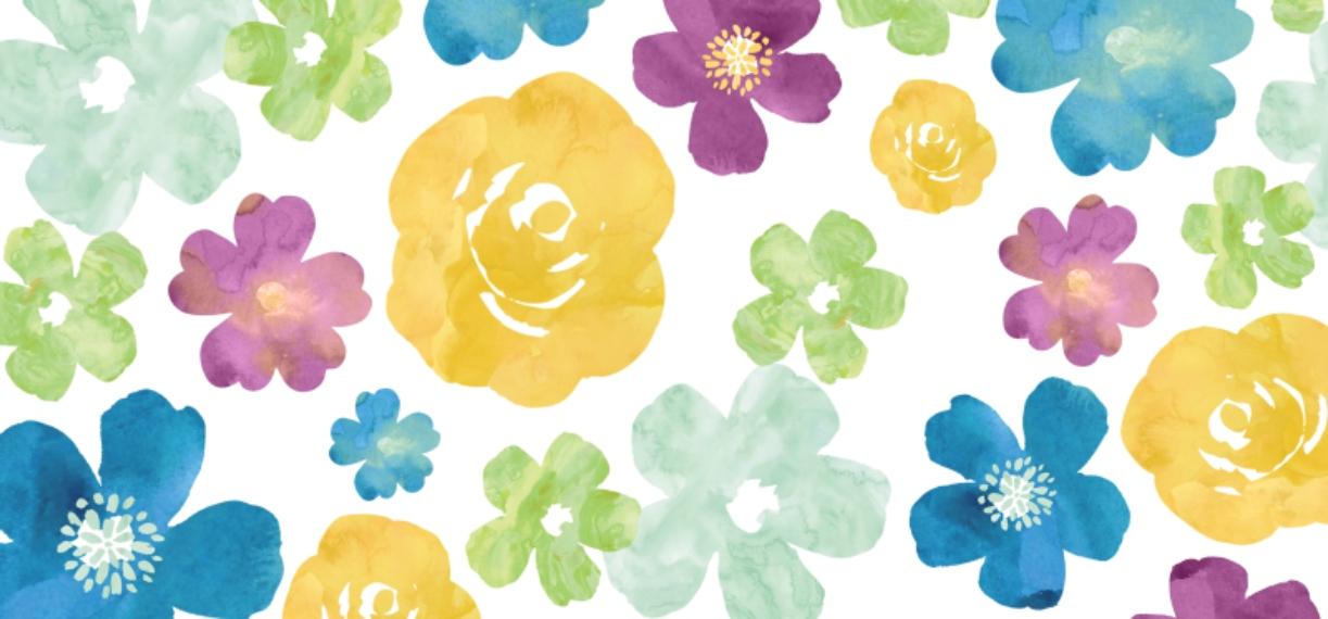 Botanical 15 oz. Mug, Gift -Watercolor Flowers