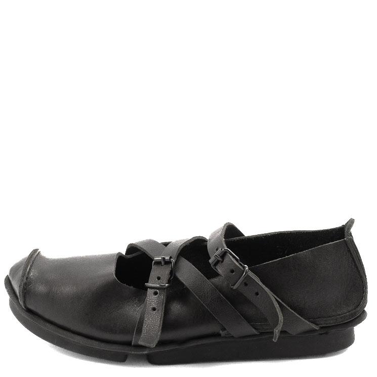 Trippen, Travel f Penna Women's Slip-on Shoes, black Größe 41