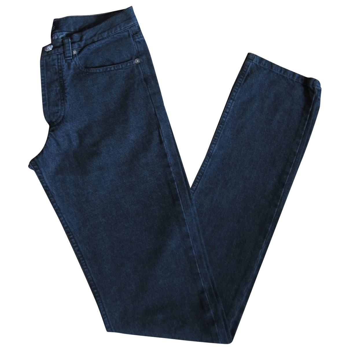 Apc Jean etroit standard Black Cotton Jeans for Women 26 US
