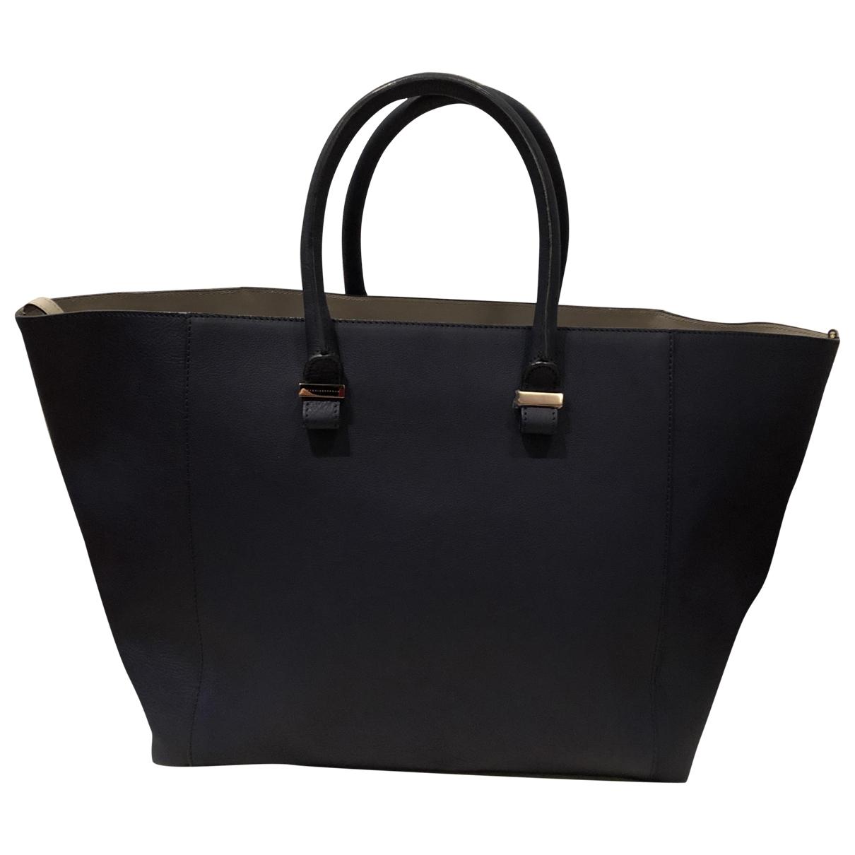 Victoria Beckham Liberty Handtasche in  Blau Leder