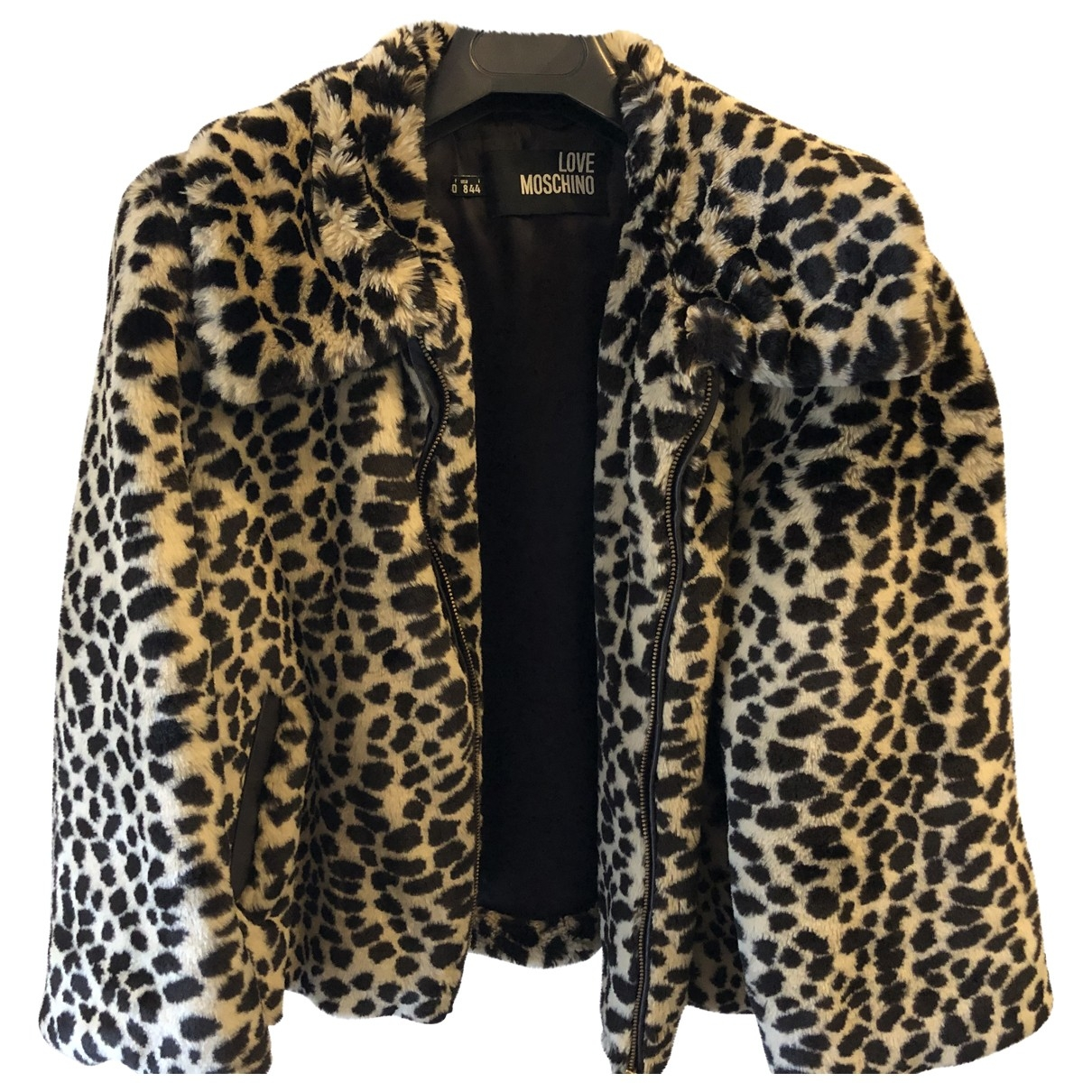 Moschino Love \N Multicolour Faux fur jacket for Women 40 IT