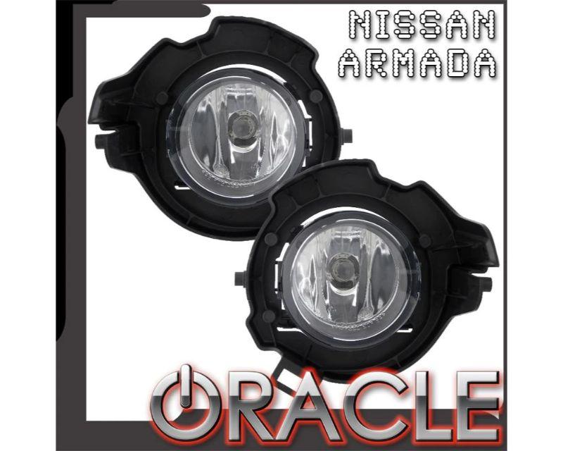 Oracle Lighting 7723-052 Pre-Assembled Fog Lights PLASMA Halo Kit Blue Nissan Armada 2008-2014