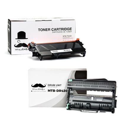 Compatible Brother MFC-7240 Toner and Drum Combo