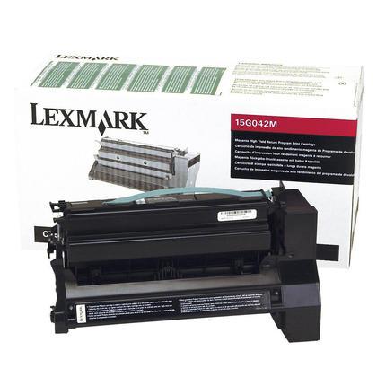 Lexmark 15G042M cartouche de toner du programme retour originale magenta haute capacité