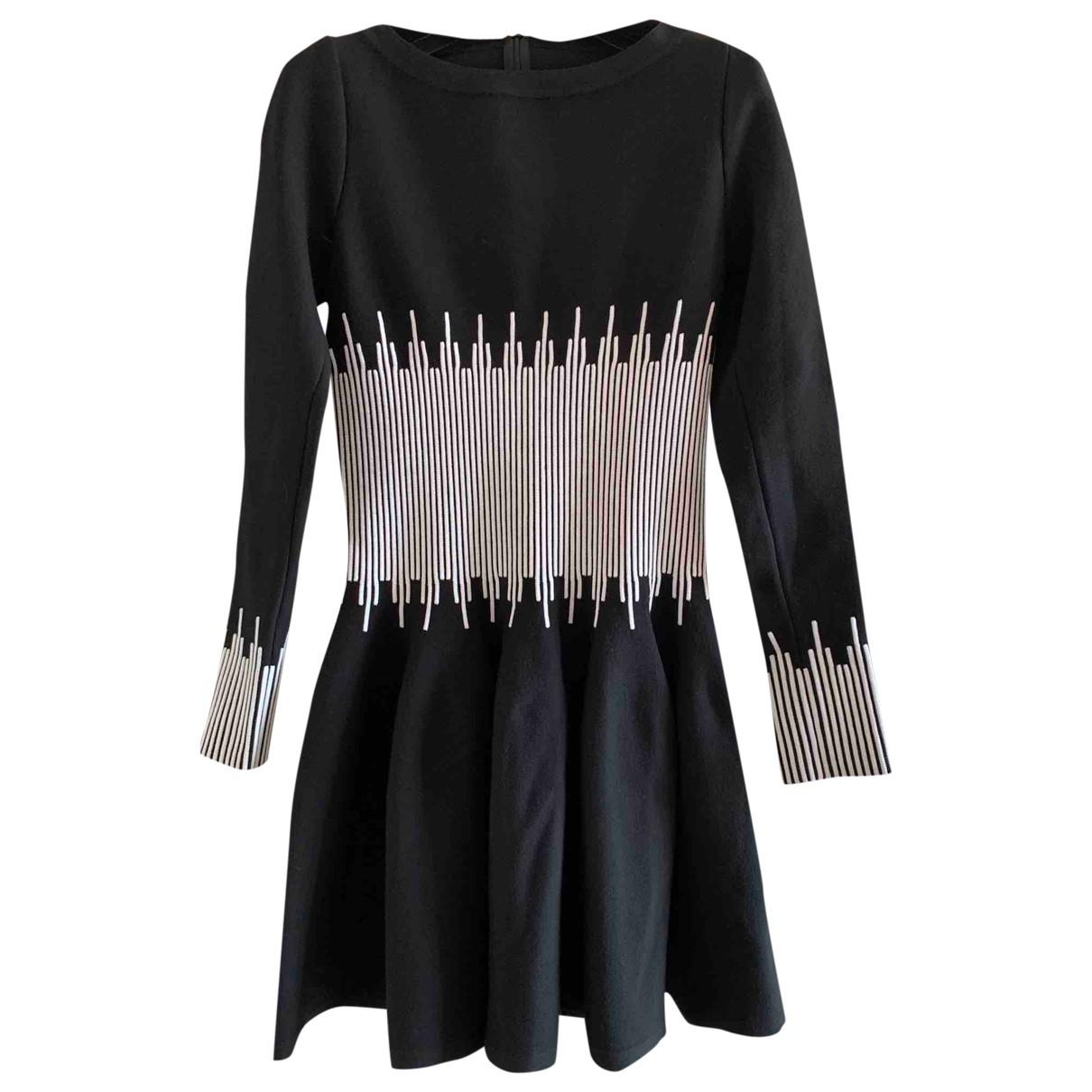 Alaia - Robe   pour femme en laine - noir
