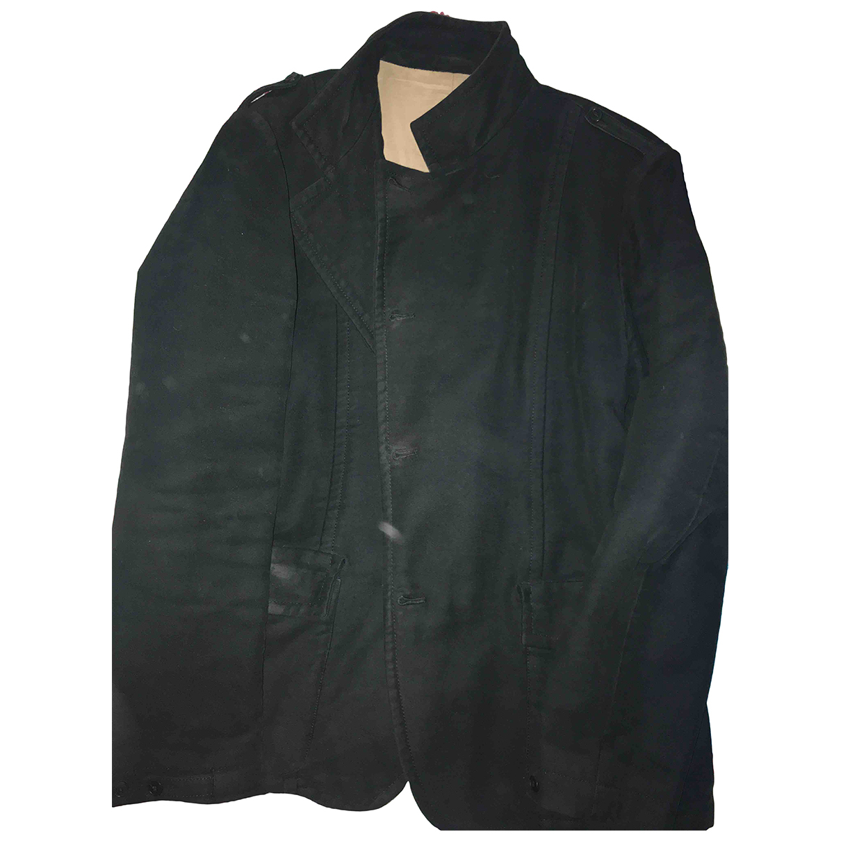 Mauro Grifoni - Manteau   pour homme en laine - noir