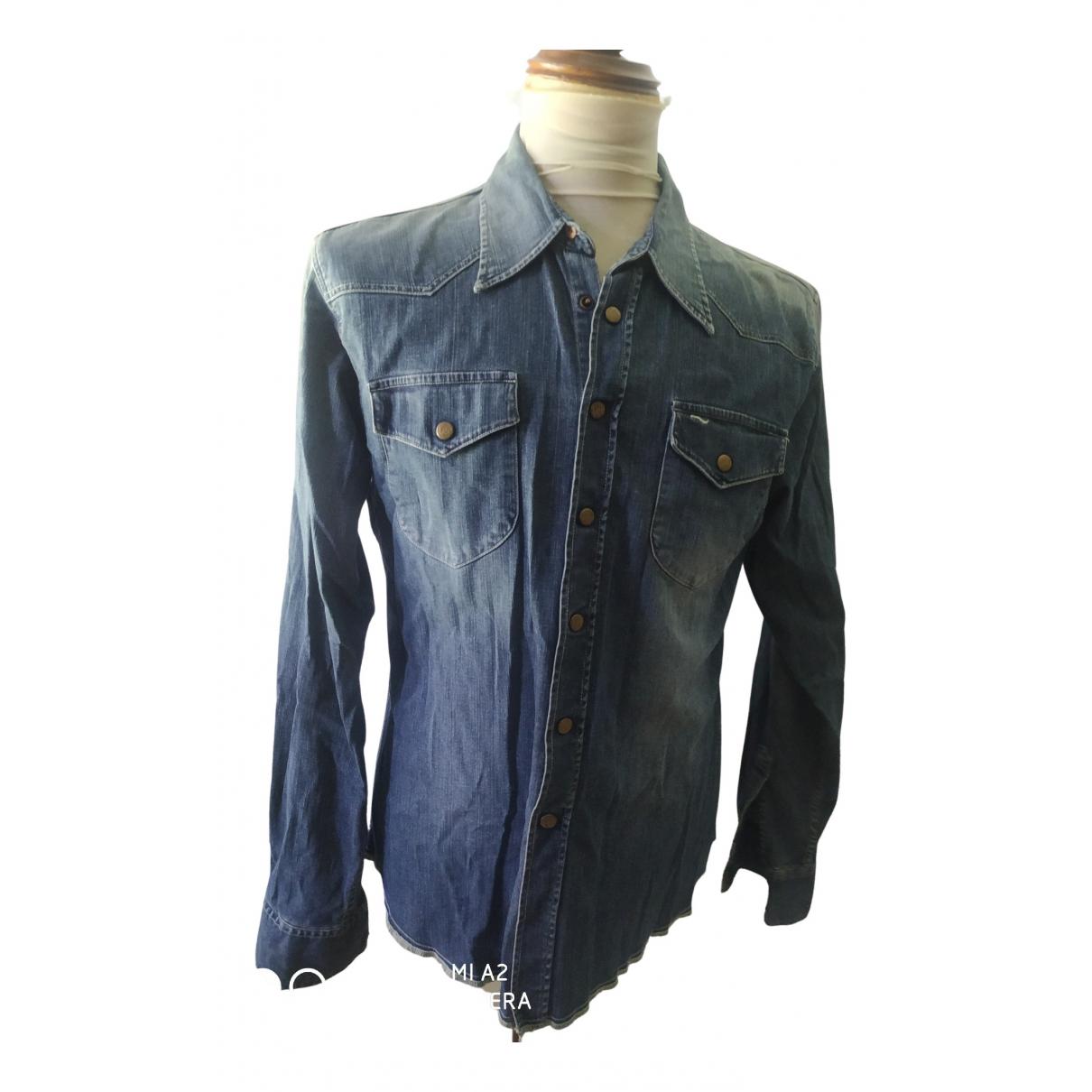 Lee - Veste   pour femme en coton - bleu