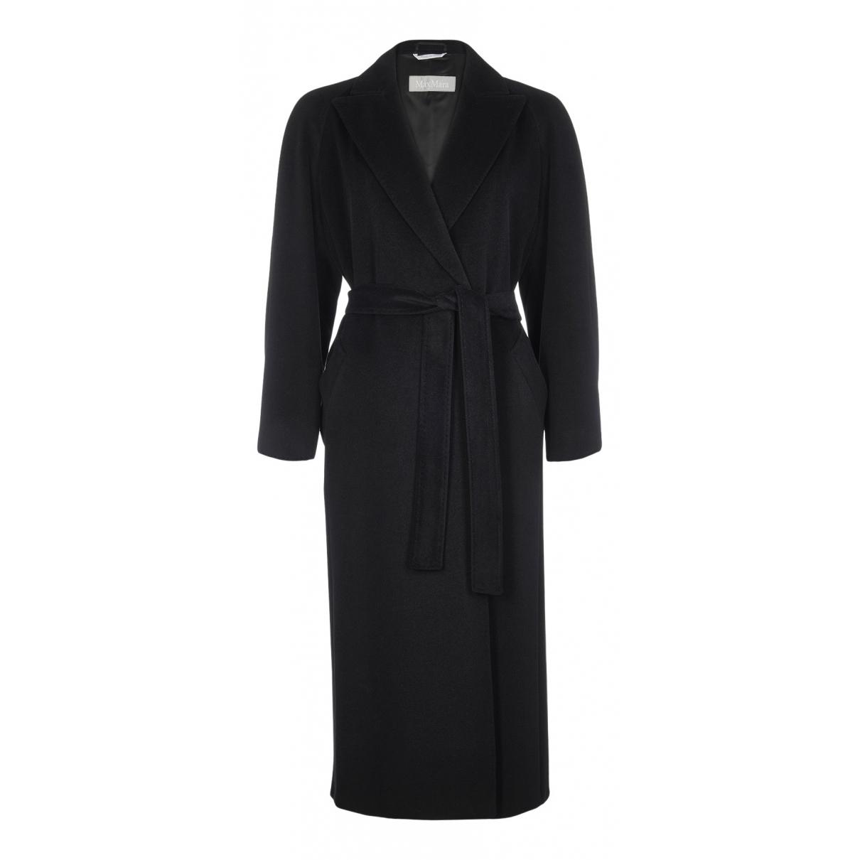 Max Mara N Black Wool coat for Women 10 UK