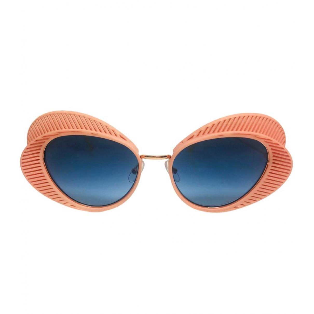 Non Signe / Unsigned \N Sonnenbrillen in  Rosa Kunststoff