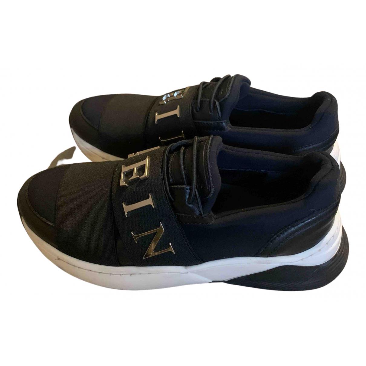 Philipp Plein - Baskets   pour enfant - noir