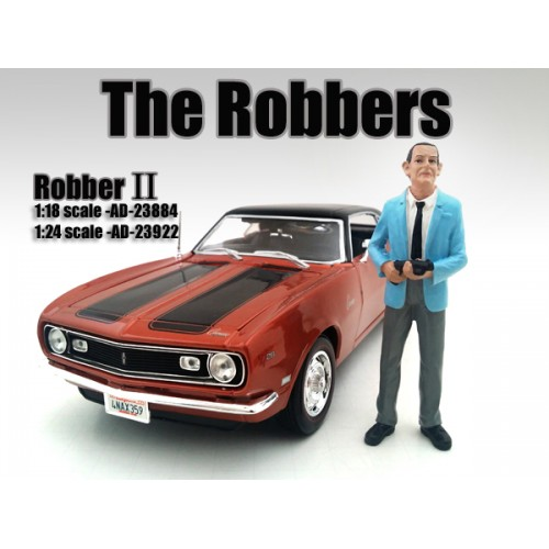 The Robbers Robber II Figure For 118 Scale Models by American Diorama