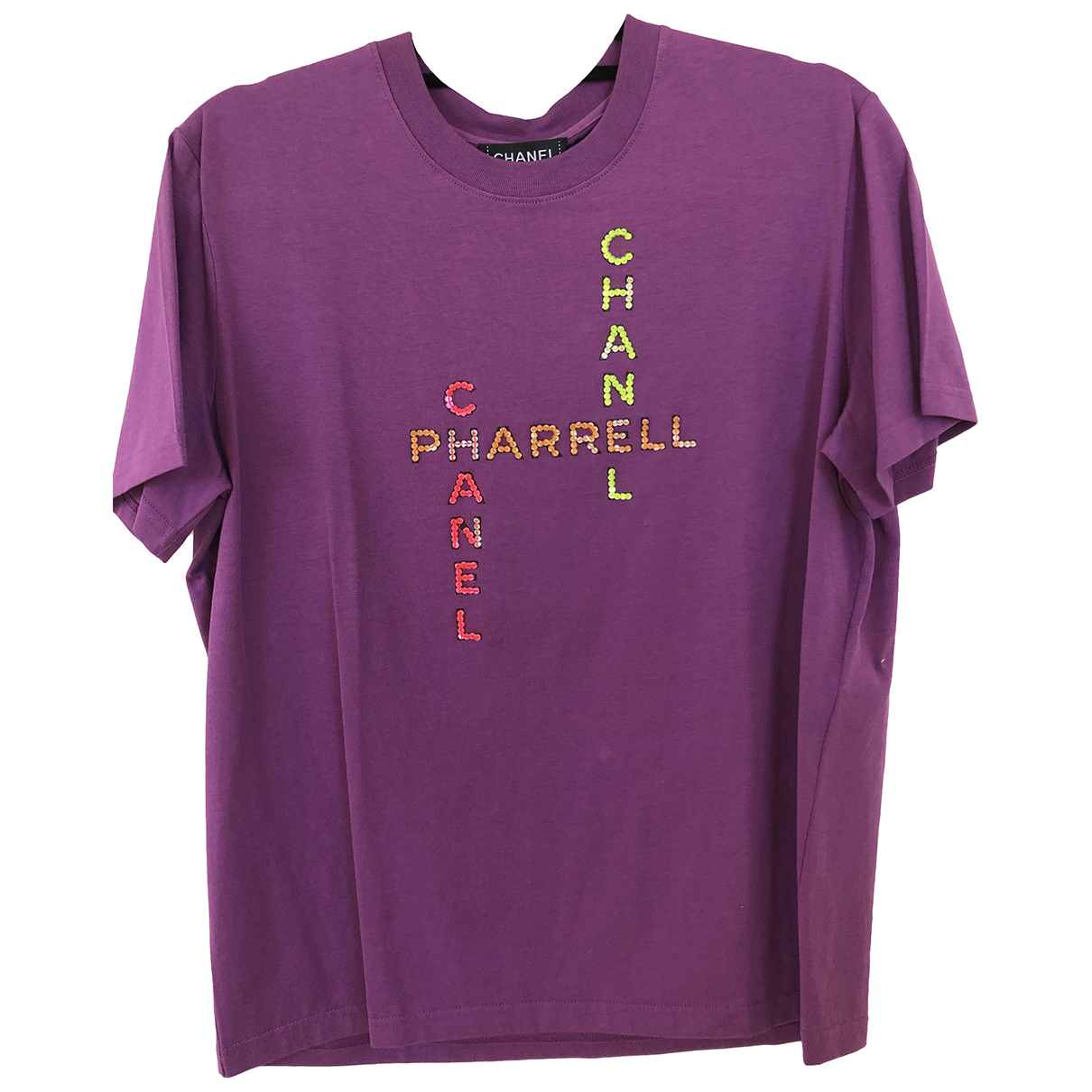 Chanel X Pharrell Williams - Tee shirts   pour homme en coton - violet