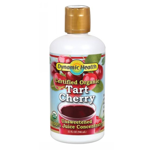 Organic Tart Cherry Concentrate 32 Oz by Dynamic Health Laboratories