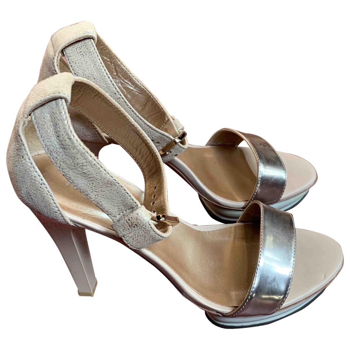 Sandalias de Cuero Hogan
