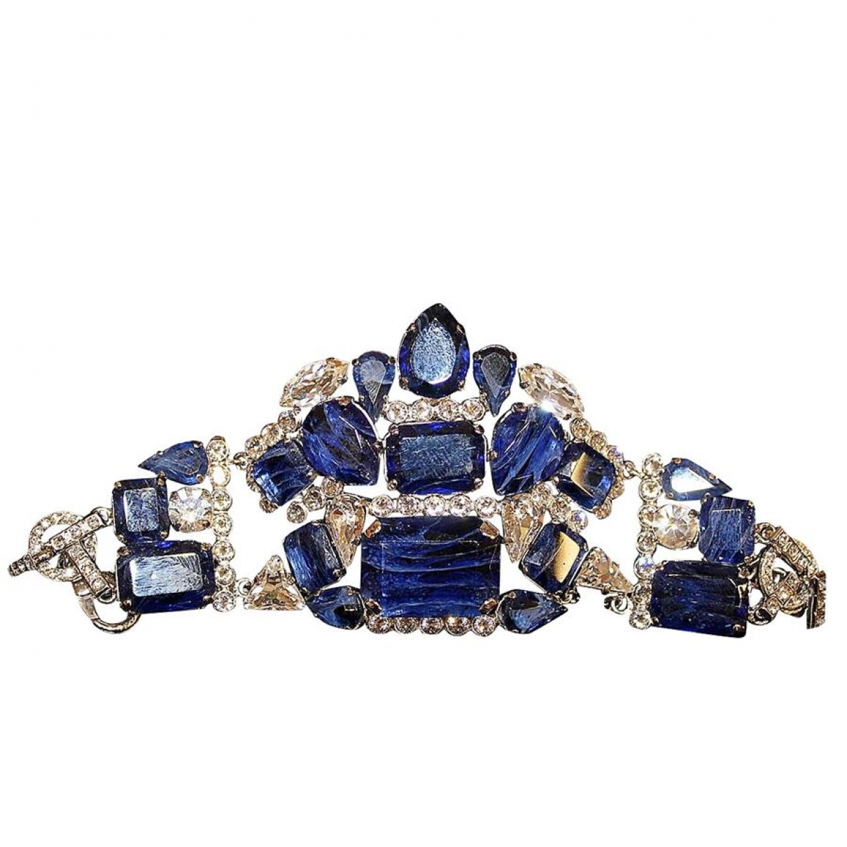 Carlo Zini \N Blue Metal bracelet for Women \N