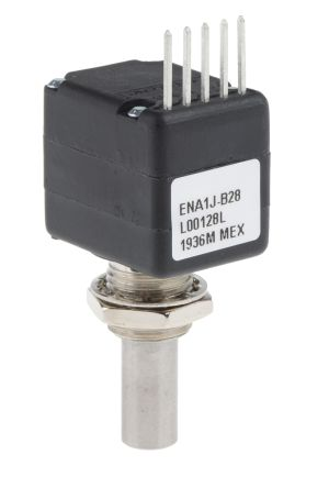 Bourns 5V dc 128 Pulse Optical Encoder with a 6.35 mm Round Shaft, Bracket Mount